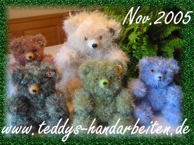 PDF Teddy Stricken Teddy-Design