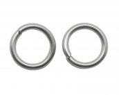 JUMP RING PW-T114 10g/ca.32St. 8mm/2mm platinum