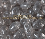 Twin Beads Presiosa 2,5x5mm 006-08149 15g crystall gray prl