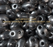 Twin Beads Presiosa 2,5x5mm 014-08349 15g crystall dk gray