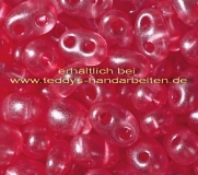 Twin Beads Presiosa 2,5x5mm 018-08398 15g crystall dkl. rose