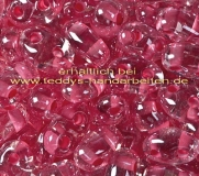 Twin Beads Presiosa 2,5x5mm 050-38698 15g crystall dkl.rose