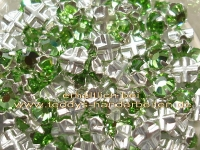 Roses Montees 4mm 12Stck. 04081 peridot